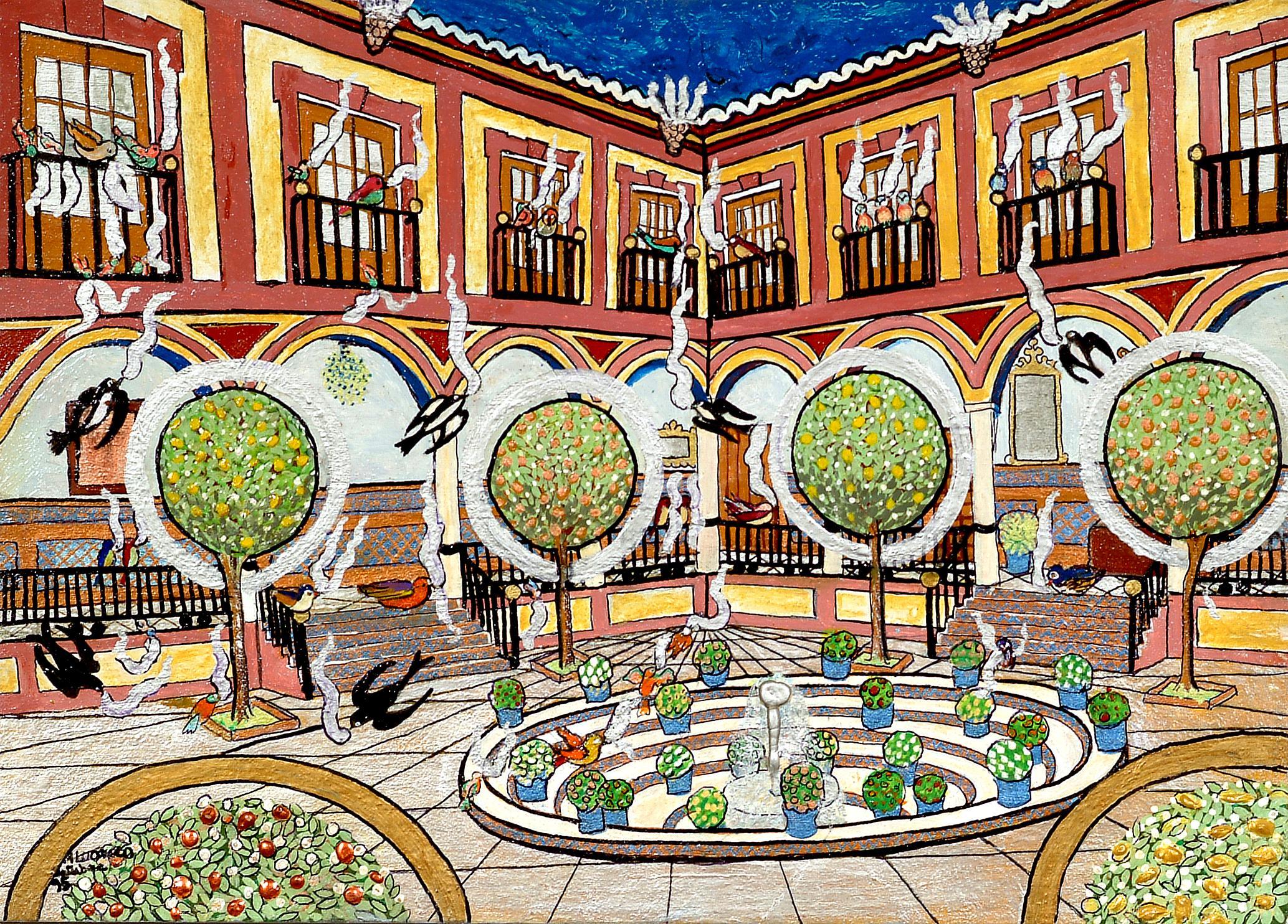 Sevilla la bit cora de melusina for Todo pintura sevilla